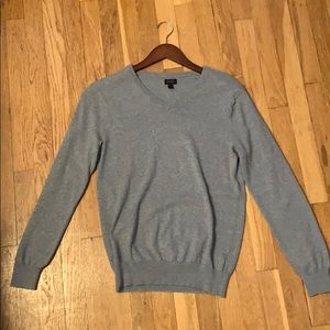 Men's J Crew V-Neck Cotton Cashmere Sweater - XS